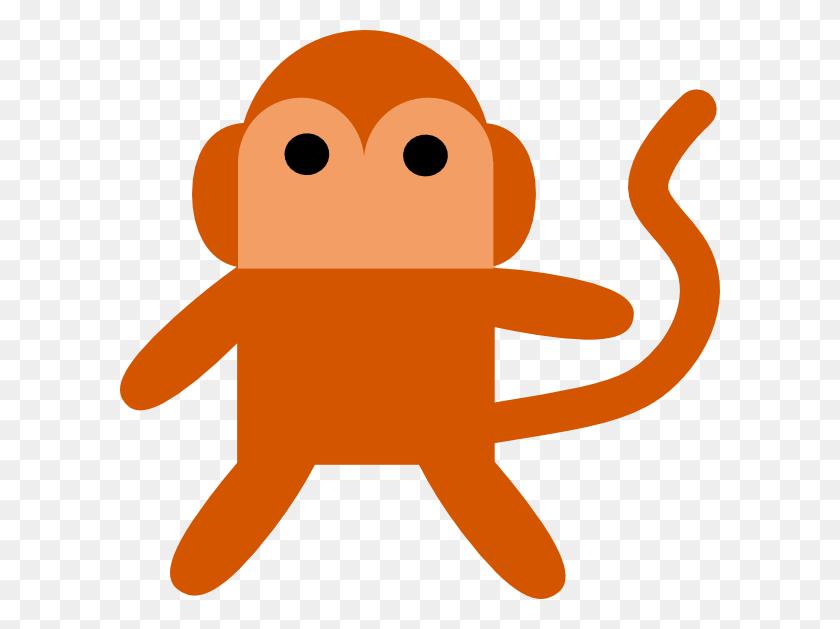 Cheeky Monkey Clip Art - Monkey Clipart Images