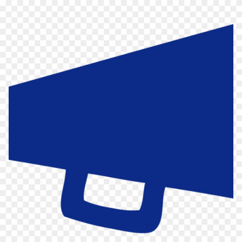 1024x1024 Cheer Megaphone Clipart Blue Panda Free Images Clip Art - Megaphone Clipart