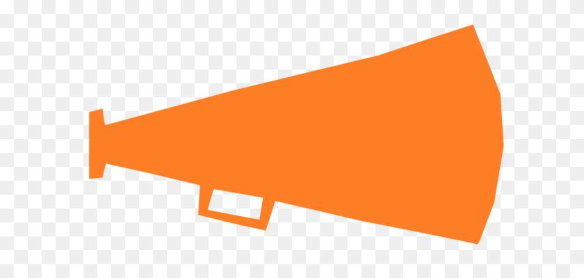 643x340 Cheerleading Megaphone Download Document Loudspeaker Free - Megaphone Clipart