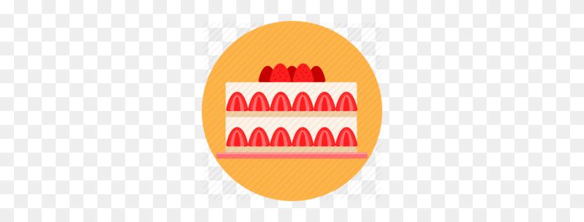 Cheesecake Clipart - Strawberry Cheesecake Clipart