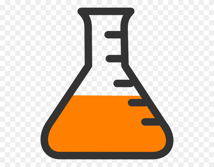 522x598 Chemistry Bottle Clip Art - Organic Chemistry Clipart