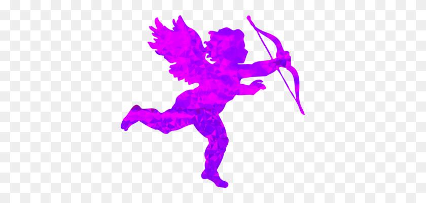 Cherub Cupid Computer Icons Love Silhouette - Cupid Clipart