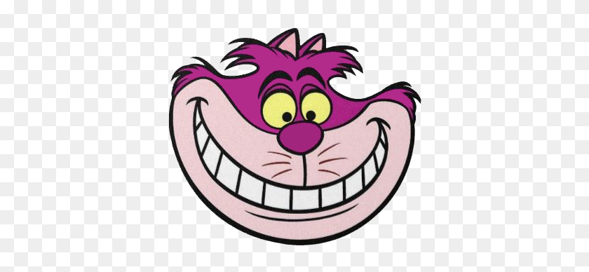 Cheshire Cat Face Clipart - Cheshire Cat Clipart