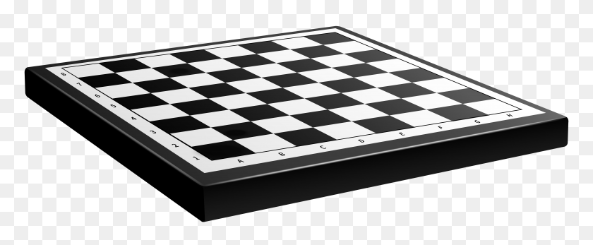 Chessboard Png Clip Art - Games Clipart Black And White