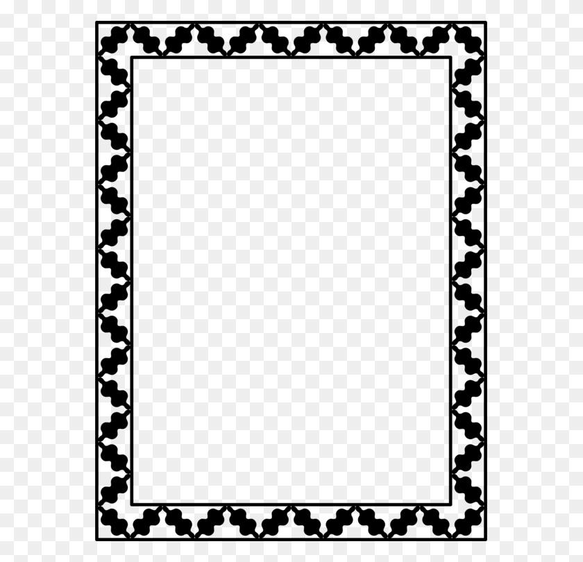 Chevron Corporation Black And White Black And White Document Free - Chevron Border Clipart