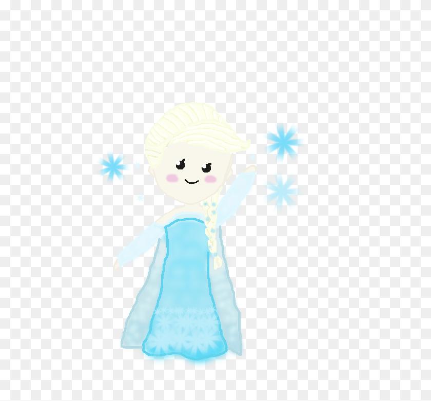Chibi Frozen Elsa Frozen Elsa Chibi - Anna And Elsa Clipart