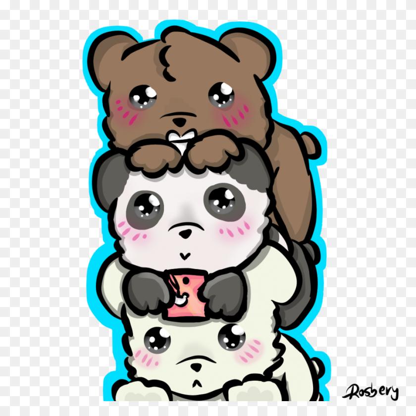 Chibis We Bare Bears - We Bare Bears PNG