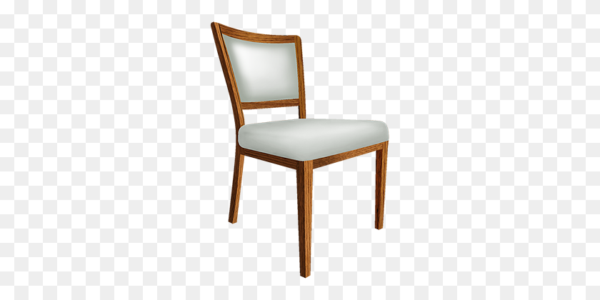 Chic Chair Aluminum Wood Grain Dining Chair - Wood Grain PNG
