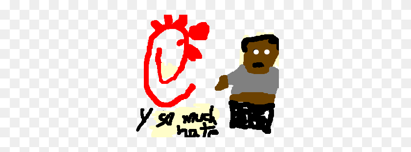 Chick Fil A Hates Black People - Chick Fil A Clip Art