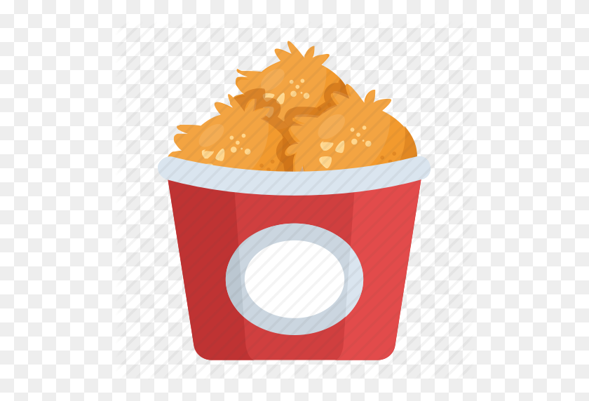 Chicken Bites, Chicken Nuggets, Chicken Wings, Snack Box, Snacks Icon - Chicken Wings PNG