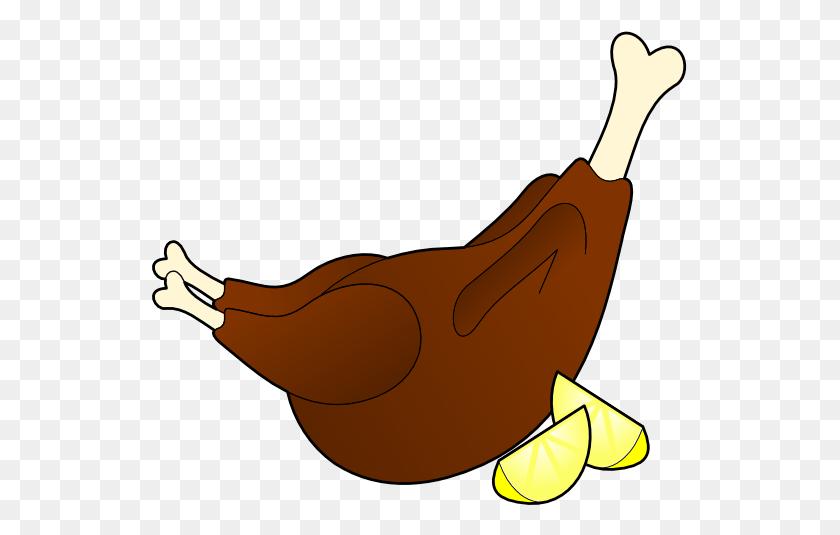 Chicken Leg Cliparts - Chicken Leg Clipart