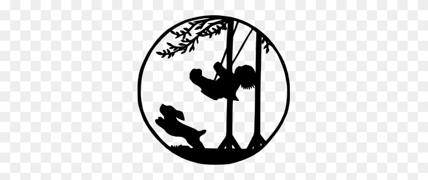 Child On Swing Clip Art - Swing Clipart