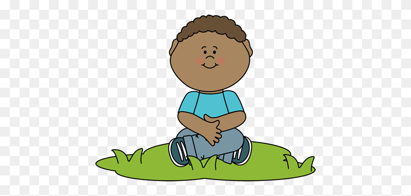 Child Sitting Quietly Clipart Clip Art Images - Sitting Criss Cross Clipart