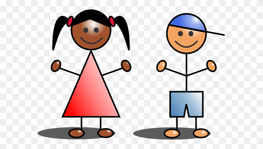 Children Kids Clip Art Free Clipart Images Clipartix - Brother And Sister Clipart