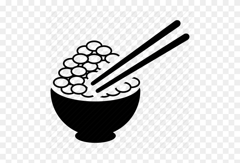 Chinese Food Clipart Rice Bowl - Rice Bowl Clipart