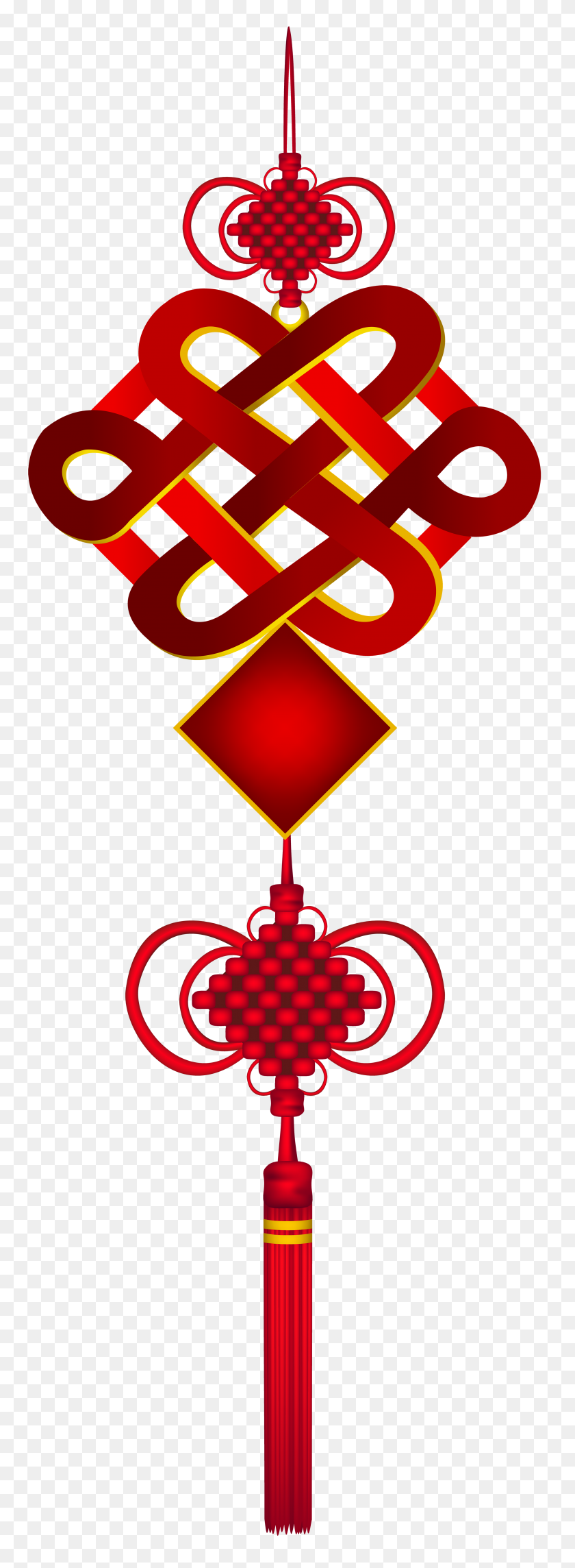 Chinese Hanging Ornament Png Clip Art - Ornament PNG