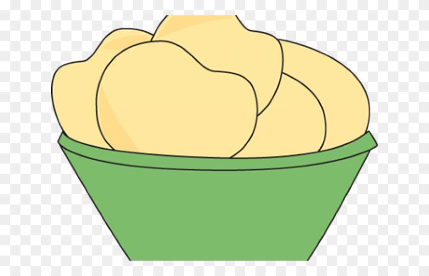 Chips Clipart Mashed Potato - Mash Clipart