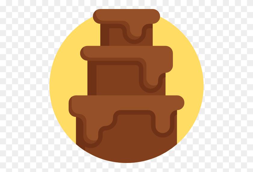 512x512 Chocolate Fountain - Chocolate Fountain Clipart
