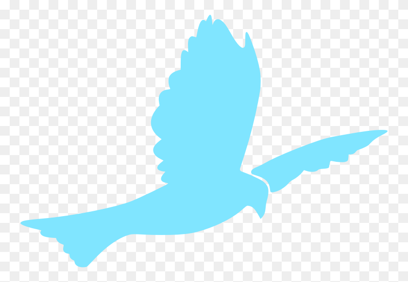 Christian Clip Art Graphic Descending Dove Solid White Dove - White Dove Clipart