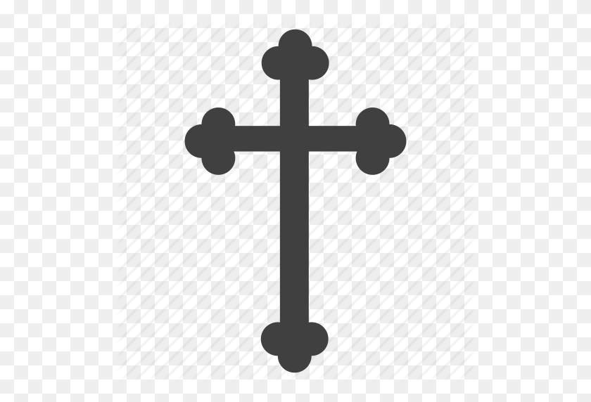 Christian Cross, Cross, Crucify, Motif Cross Icon - Christian Cross PNG