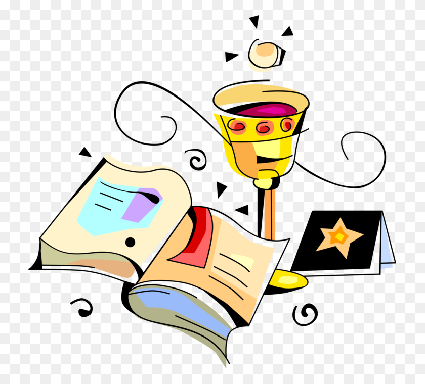 Christian Holy Bible, Chalice, Communion - Chalice And Host Clipart