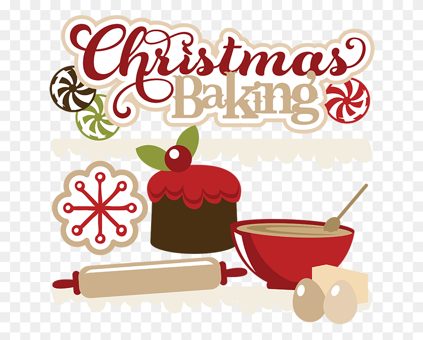 Cute Christmas Clip Art.Christmas Baking Free Svgs Cute Christmas Clipart Cute Clip