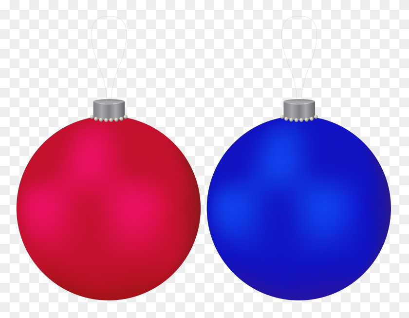 Christmas Balls Red And Blue Clip Art Gallery - Blue Christmas Clipart