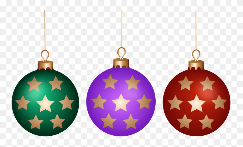 2000x1147 Christmas Balls Set Png Clip Art - Christmas Balls Clipart