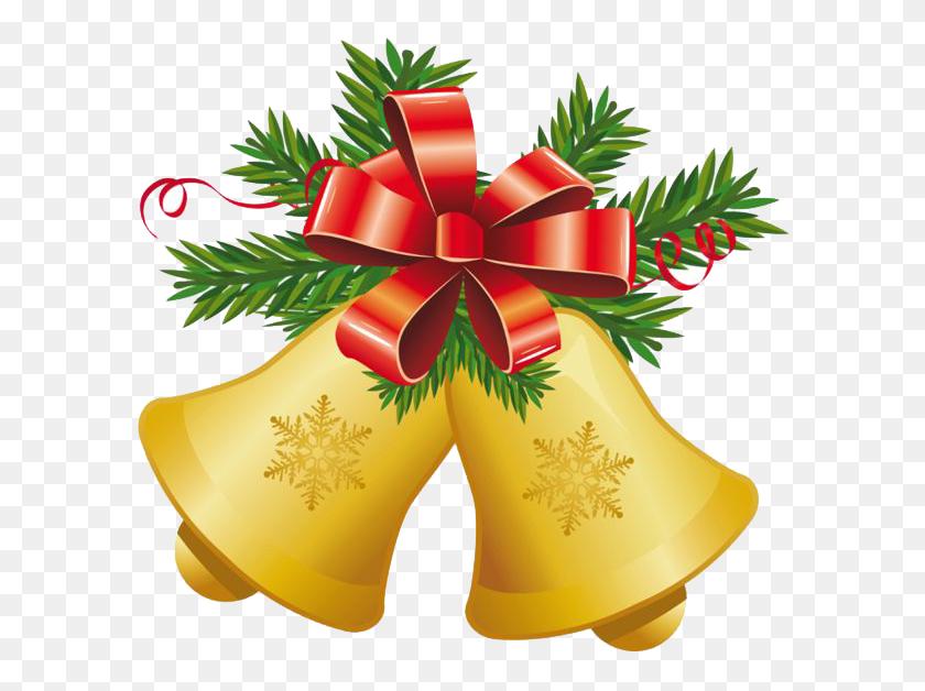 600x568 Christmas Bell Png Transparent Images - Jingle Bells PNG
