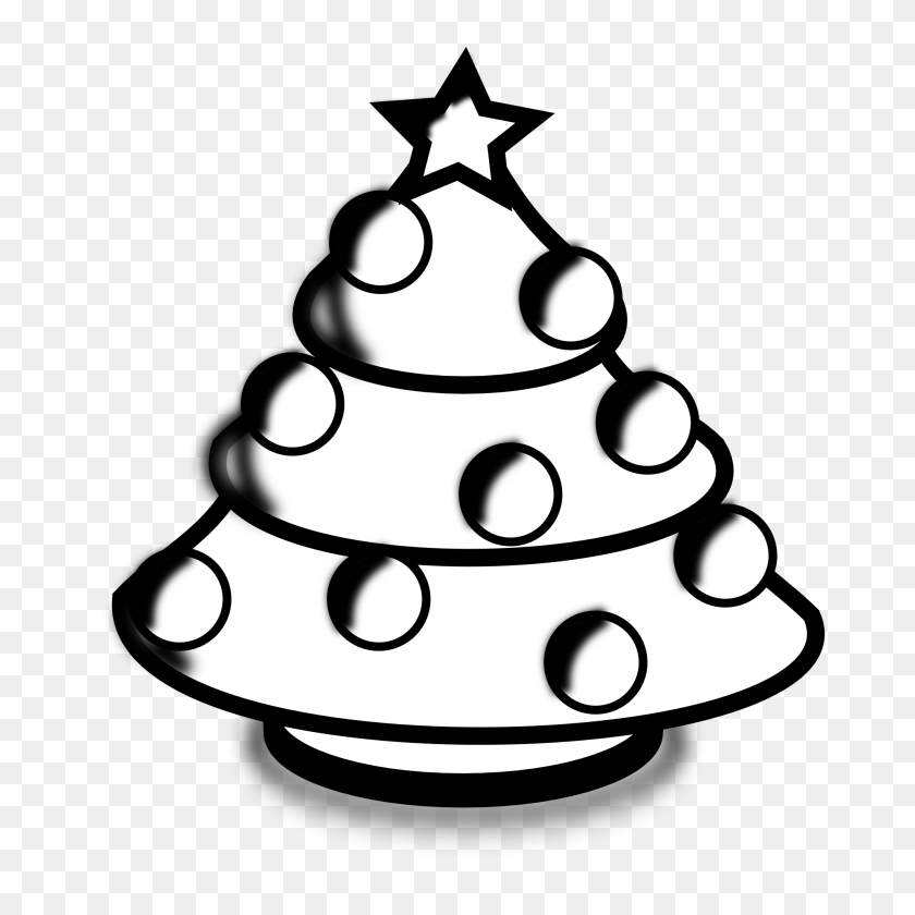 Christmas Black And White Christmas Clipart Black And White Border - Christmas Bell Clipart