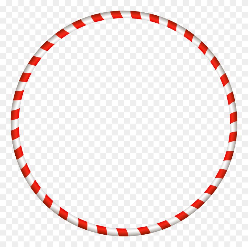 Christmas Candy Cane Border Clip Art - Christmas Page Border Clip Art