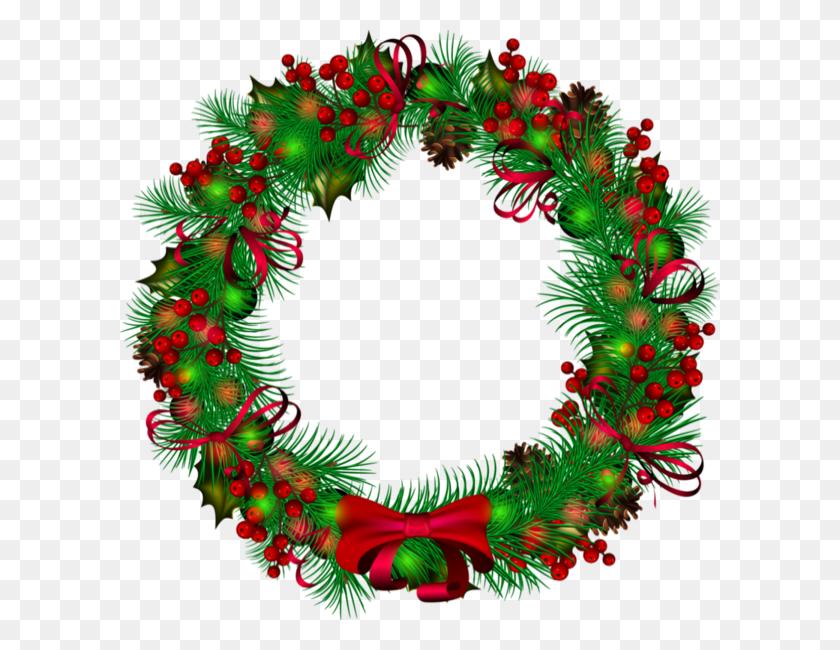 Christmas Cards Christmas, Christmas Wreaths - Christmas Wreath Clipart
