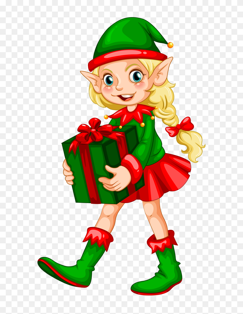 Christmas Clip Art Christmas, Elves, Christmas Elf - Macho Man Clipart