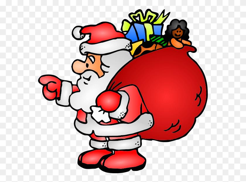 Christmas Clipart Santa.Santa Claus Royalty Free Vector Clip Art Illustration