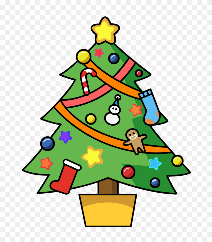 1200x1386 Christmas Clipart - Free Download Clipart Images