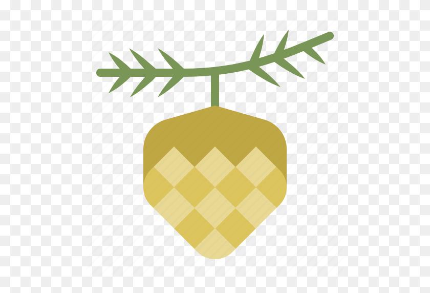 Christmas, Conifer Cone, Ornament, Pinecone, Xmas Icon - Pinecone PNG