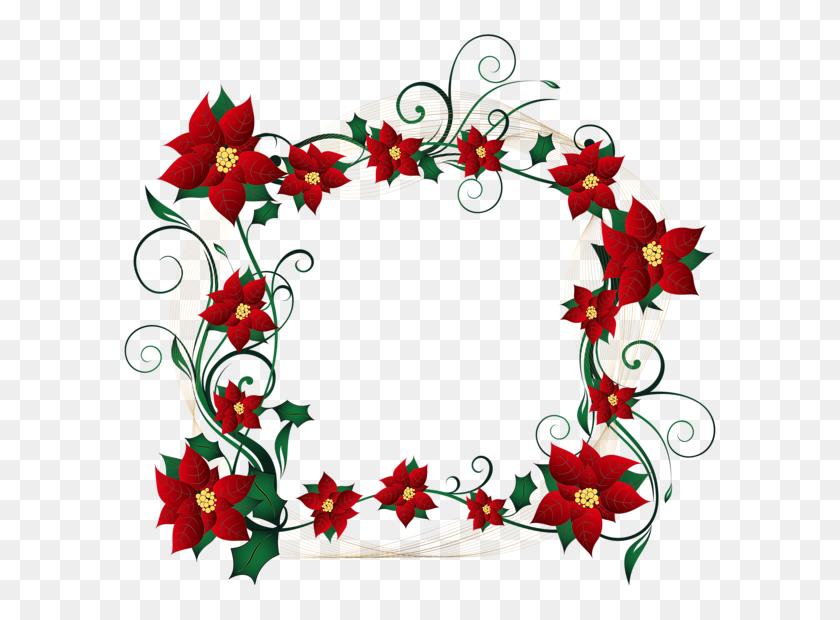 Christmas Decorative Border Transparent Png Clip Art Image - Christmas Page Border Clip Art