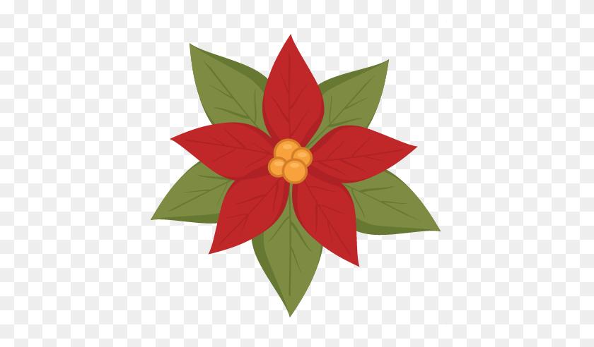 Christmas Flower Poinsettia Clipart - Poinsettia Clip Art