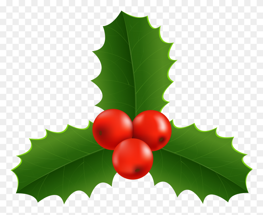 Christmas Holly Border Clipart.Red Christmas Top Border Clipart Holly Border Clip Art