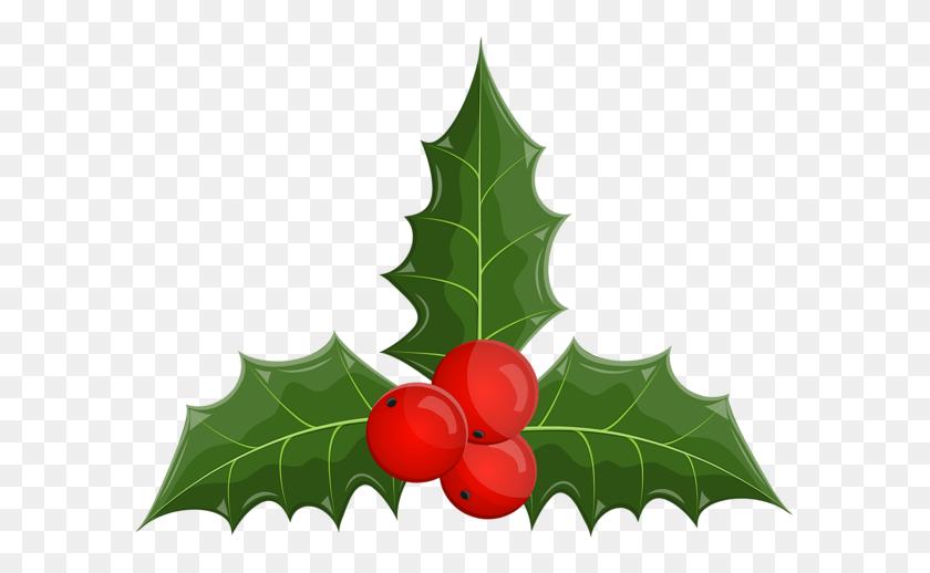 Christmas Holly Mistletoe Clip Art - Mistletoe Clipart