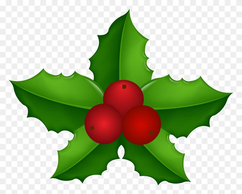 Christmas Holly Mistletoe Transparent Clip Gallery - Mistletoe Clipart