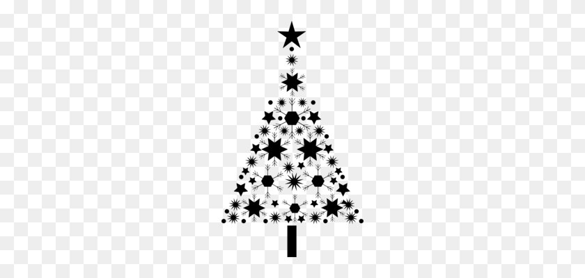 Christmas Tree Clipart Black And White.Christmas Lights Clip Art Christmas Holiday Cartoon Free