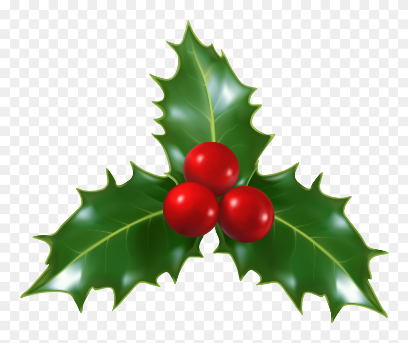 Christmas Mistletoe Cliparts - Christmas Bell Clipart
