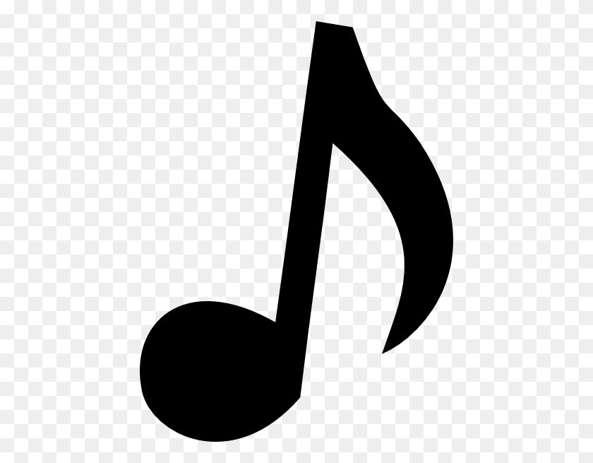 444x595 Christmas Music Notes Border Clip Art - Free Clipart Music Borders