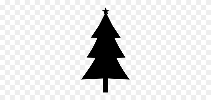 193x340 Christmas Ornament Santa Claus Silhouette Borders And Frames - Christmas Santa Clipart