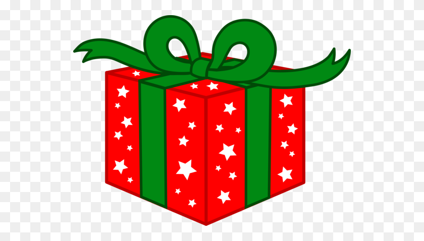 Christmas Present Clipart - Simple Christmas Clipart