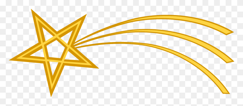 Christmas Star Transparent Png Pictures - Yellow Line PNG