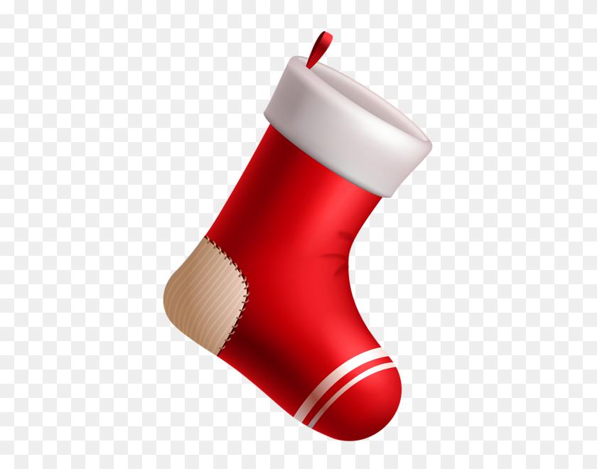 Christmas Stockings Christmas, Red - Christmas Stockings PNG