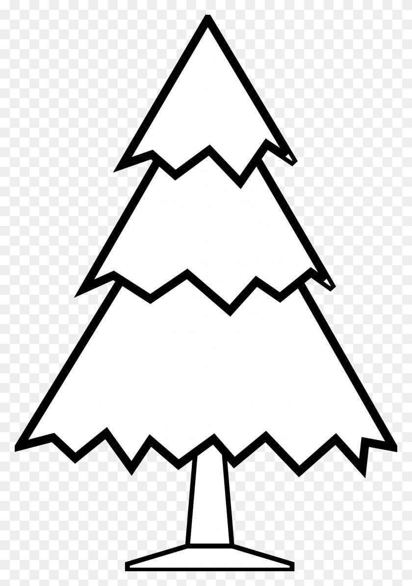 Christmas Tree Black And White Xmas Tree Clip Art Christmas - Tree Clipart