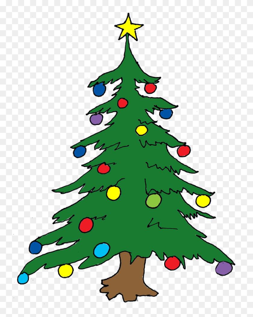 Christmas Tree Clip Art - Christmas Tree Clipart Transparent